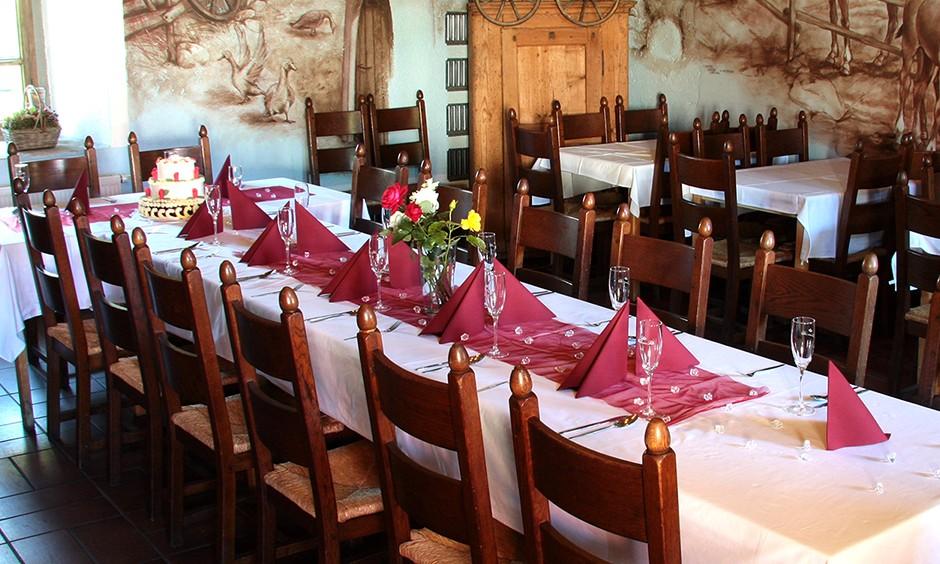 Svatební tabule Modrý salonek